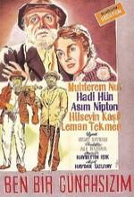 Ben Bir Günahsızım (1959) afişi