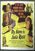 Benim Adım Julia Ross (1945) afişi