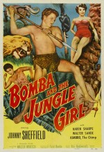 Bomba And The Jungle Girl (1952) afişi