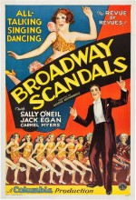 Broadway Scandals (1929) afişi