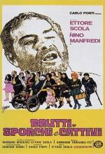 Kirli, Çirkin ve Kötü (1976) afişi