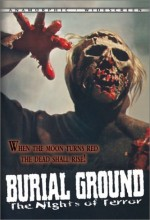 Burial Ground (1981) afişi