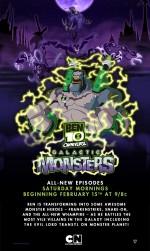Ben 10 Omniverse: Galactic Monsters (2014) afişi