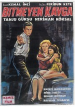 Bitmeyen Kavga (1965) afişi