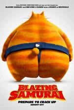 Blazing Samurai (2018) afişi