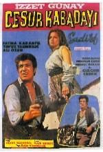 Cesur Kabadayı (1969) afişi