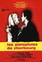 Cherbourg Şemsiyeleri (1964) afişi