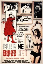 Color Me Blood Red (1965) afişi