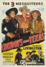 Cowboys From Texas (1939) afişi