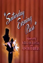 Saturday Evening Puss (1950) afişi