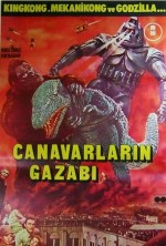 Canavarlarin Gazabı (1962) afişi