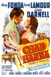 Chad Hanna (1940) afişi