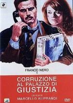 Corruzione al palazzo di giustizia (1975) afişi