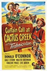 Curtain Call at Cactus Creek (1950) afişi