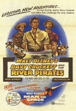 Davy Crockett And The River Pirates (1956) afişi