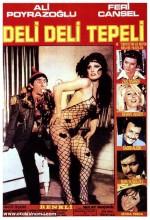 Deli Deli Tepeli (1975) afişi