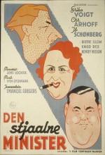 Den Stjaalne Minister (1949) afişi