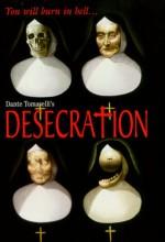 Desecration (1999) afişi