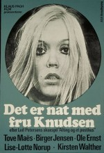 Det Er Nat Med Fru Knudsen (1971) afişi