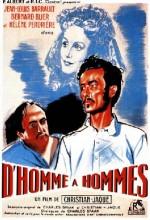 D'homme à Hommes (1948) afişi