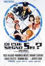 Di Che Segno Sei? (1975) afişi