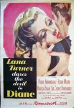 Diane (1956) afişi