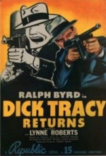 Dick Tracy Returns (1938) afişi