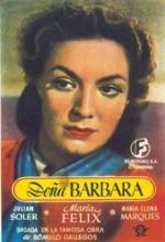 Doña Bárbara(ı) (1943) afişi