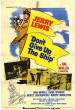 Don't Give Up The Ship (1959) afişi