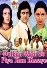 Dulhan Wahi Jo Piya Man Bhaaye (1977) afişi
