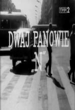 Dwaj Panowie 'n' (1962) afişi