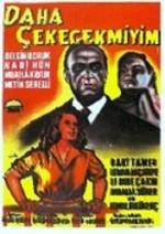 Daha Çekecek Miyim? (1958) afişi