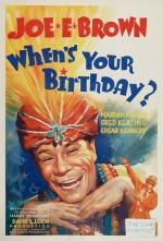 Doğum Günün Ne Zaman?