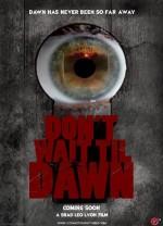 Don't Wait Til Dawn  afişi