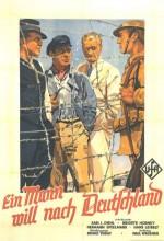 Ein Mann Will Nach Deutschland (1934) afişi
