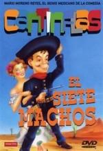 El Siete Machos (1951) afişi