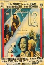 Elles étaient Douze Femmes (1940) afişi