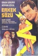Erkek Sözü (1964) afişi