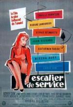 Escalier De Service (1954) afişi