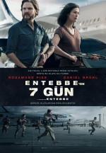 Entebbe'de 7 Gün (2018) afişi