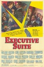 Executive Suite (1954) afişi