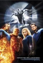 Fantastik 4: Gümüş Sörfçü'nün Yükselişi (2007) afişi