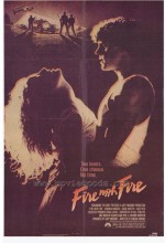 Fire With Fire (1986) afişi