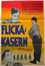 Flicka I Kasern (1955) afişi