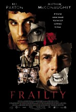 Frailty (2001) afişi