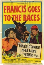 Francis Goes To The Races (1951) afişi