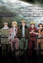 Ginmaku Hetalia: Axis Powers (2010) afişi