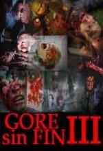 Gore Sin Fin 3 (2008) afişi