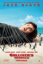 Gulliver'in Gezileri (2010) afişi