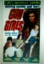 Gun Girls (1957) afişi